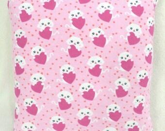 Cat Lovers Heart Quillow! Super Cute!