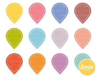 Map Marker Clipart Illustration for Commercial Use | 0221