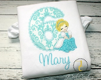 Princess Shirt - Princess Party, Princess Outfit, Girl Birthday Outfit, Princess Birthday, Princess Dress, Girls Birthday Shirt, Baby Girl