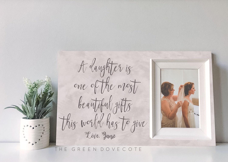 Mutter Tochter Geschenk Mutter der Braut Geburtstag
