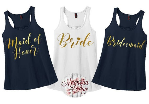 Bride Heart, Bridal Party Tanks, Wedding Party, Bachelorette Tanks, Women's Racerback Tank Top in 9 Colors in Sizes Small-4X, Plus Size