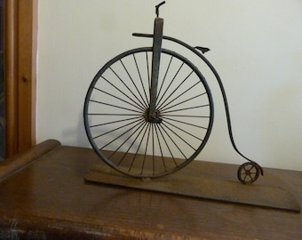 Scratch built model of Penny Farthing