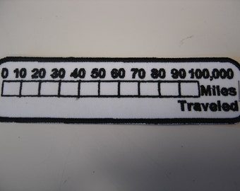 Mileage Counter Patch