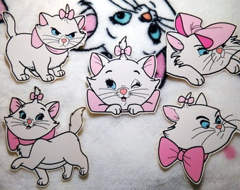 Marie Aristocats Sticker Pack of 5