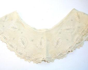 Vintage Embellished Collar