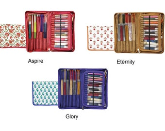 Knitter's Pride Assorted Needle Case - Aspire (810003), Eternity (810013), Glory (810023)