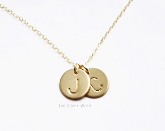 Gold Necklace, Personalized Necklace, Initial Necklace, Gift for Mom, Personalized Gold Necklace, Mothers Necklace, Personalized Jewelry