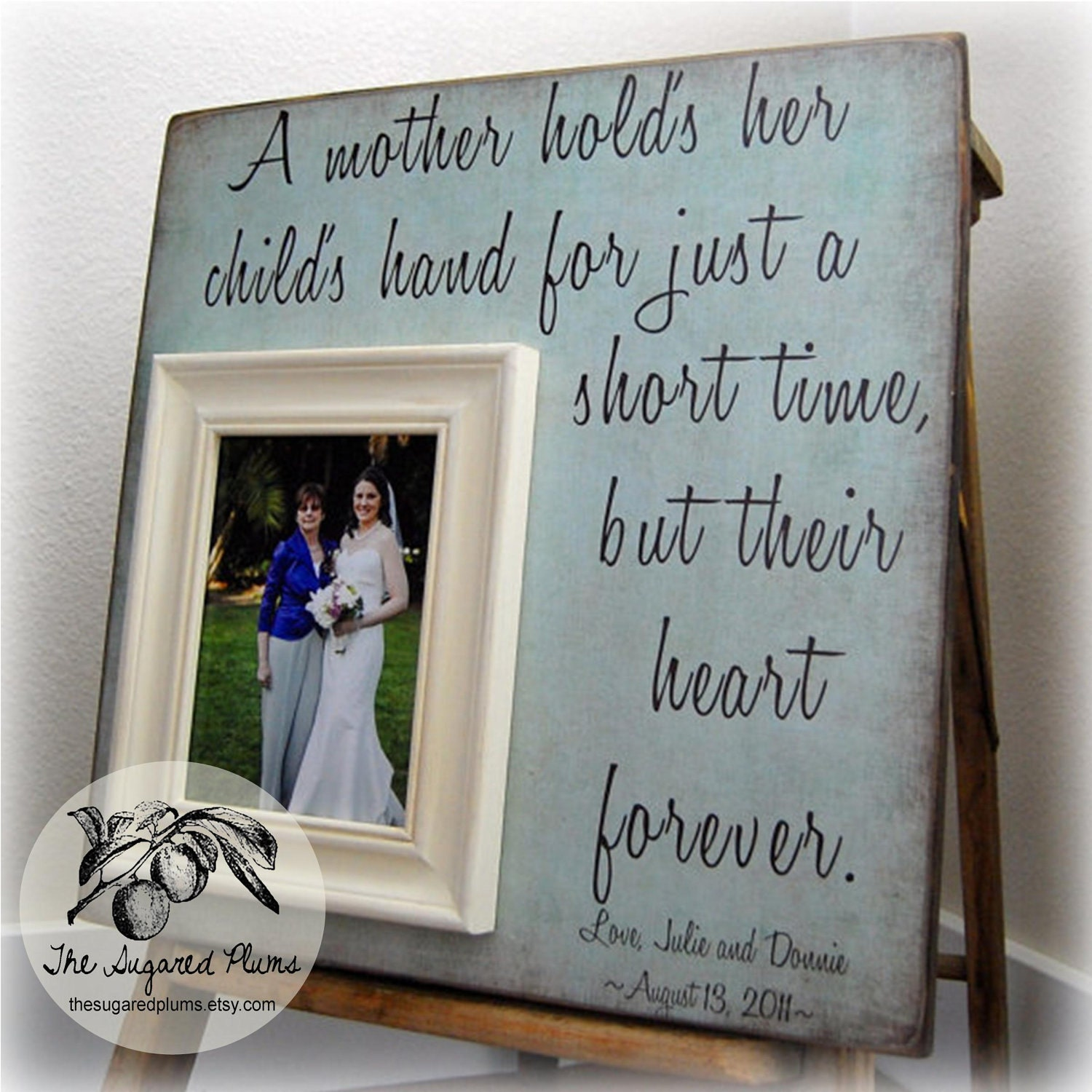 Best Mother Of The Bride Gifts Personalized Picture Frame A
