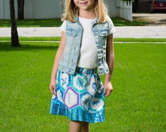 By the Sea  Skirt   (18 mos,   2T, 3T, 4T, 5, 6, 7, 8, 10)