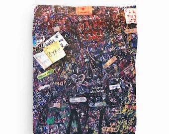 Graffiti Duvet Cover, Graffiti Art, Italy Photography, Dorm Duvet Cover, Dorm Decor, Teen Girl Room Decor, King, Queen, Twin Duvet Cover