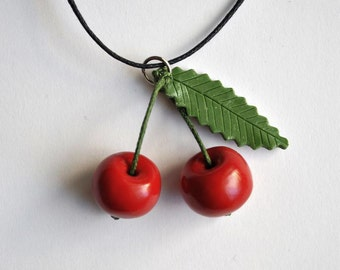 Cherry Necklace - Gifts for her