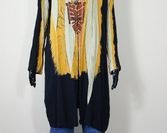 Tribal duster/long blazer