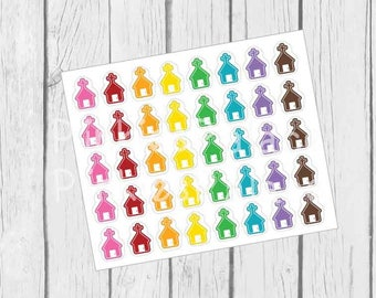 Church Stickers Planner Stickers Set of 40 PS439