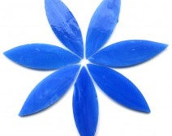 Stained Glass Large Petal - Dream Blue - 7 pieces (approx 0.25g)