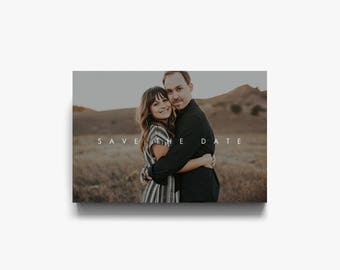 Save the Date Template, Save the Date Printable, Save the Date Postcard, Photoshop, Save the Date Photo Template, Save the Date Cards
