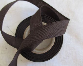 2 m Brown Ribbon, extra strong Brown and 1.5 cm in height