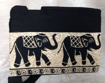 Laptop sleeve - elephants