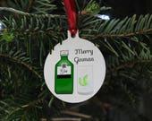 Gin Christmas tree decora...