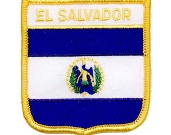 El Salvador Patch (Iron on)