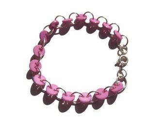 button bracelets - 16th birthday girl gifts - birthday gifts for girls - button bracelet - pale pink jewellery - blush pink jewellery