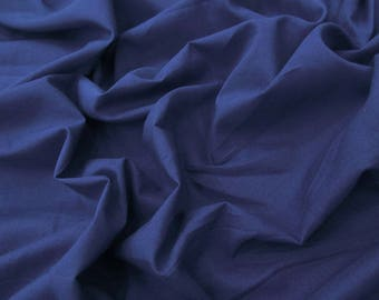 """Indian Dress Fabric, Navy Blue Color, Sewing Material, Apparel Fabric, Crafting, 43"""" Inch Cotton Fabric By The Yard PZBC9Y"""