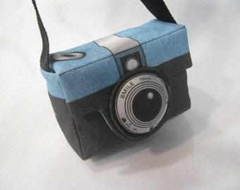 Small Retro Style Camera Bag or Purse