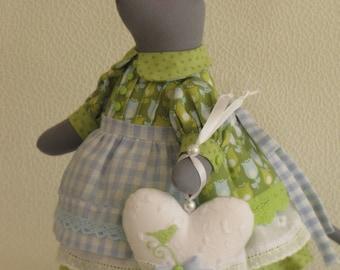 Tilda style mouse Liselotte