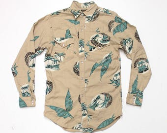 Western Snap Button Up