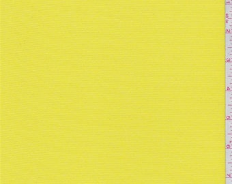 Vibrant Yellow Lightweight Activewear, Fabric By The Yard