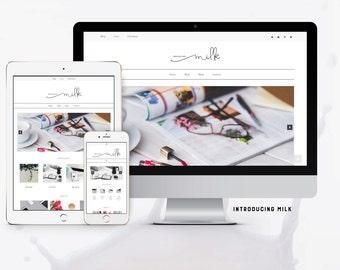 Milk Genesis Child Theme/WordPress Theme - Responsive.WooCommerce Ready.Unlimited Colors