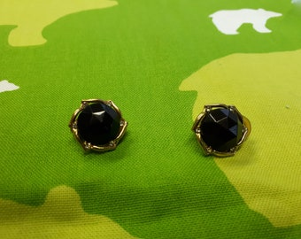 Vintage Art Deco Minimalist Kitsch Earrings - Boho Chic Dinner Party Prom - Clip on