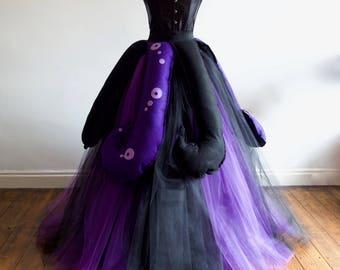 Women's Ursula Seawitch inspired Set,Halloween,Villain Party, Various Sizes