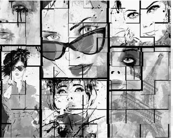 """Grey Faces"" Panel"