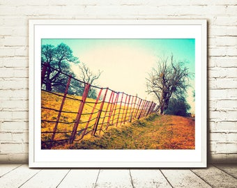 Country art, Rustic wall art, Farmhouse print, Farmhouse wall art,landscape photography,Nature prints,Rustic prints,Farm decor,landscape art
