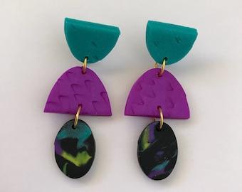 Dangle earrings - 'Tania'