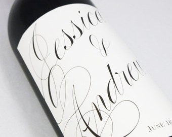 Wedding  Wine Labels  personalized wine labels for weddings and special events