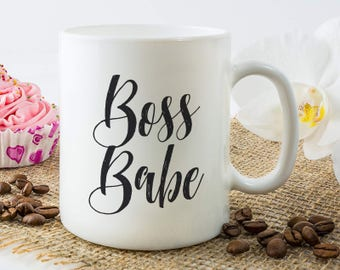 Boss Babe Mug, Gift For Female Boss, Boss Lady Mug, Female Boss Gift Ideas, Girl Boss, Boss Lady, Boss Mug, Girl Boss Mug, Lady Boss