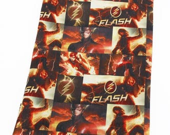 "Fabric printed theme ""The Flash"""