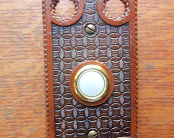 """New Victorian """"Shield"""" Electric Doorbell Button"""
