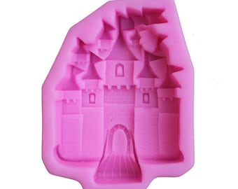 Castle 3D Silicone Mold - M0466 - Cake Chocolate Baking Soap Mold