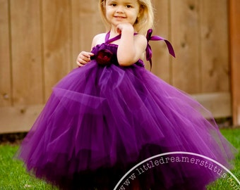 Perfectly Plum Tutu Dress