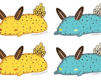Sea Bunny Stickers
