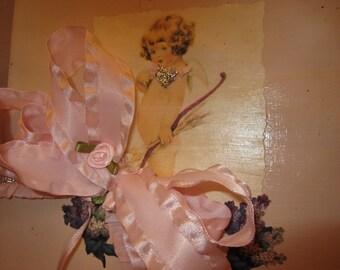 A Beautiful Handmade Paper Keepsake Box