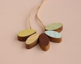 Birch Wooden Necklace