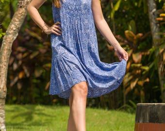 Daphne Dress, Sundress, Summer Dress, Shift Dress, Beach Dress, 114-114