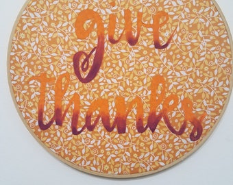 Give thanks 10""