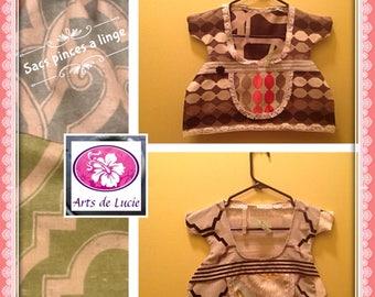 Bag clips linens (clothes pins)