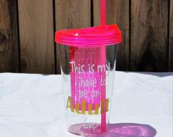 Tumbler, Personalized tumbler, Custom tumbler, Infusion tumbler, Fruit Infusion Cup, Cup, Water bottle infuser, Fruit infuser