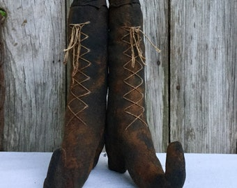 Primitive Witch Boots