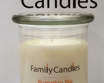 Family Candles - Pumpkin Pie 12oz Soy Candle